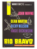 Rio Bravo, Spanish Movie Poster, 1959 Prints