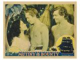 Mutiny on the Bounty, 1935 Umělecké plakáty