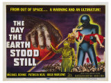 The Day The Earth Stood Still, UK Movie Poster, 1951 Posters