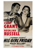 His Girl Friday, 1940 Posters