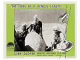 The Lives of a Bengal Lancer, 1935 Print