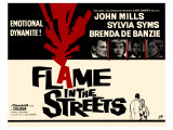 Flame in the Streets, 1961 Giclee Print