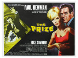 The Prize, UK Movie Poster, 1963 Giclee Print