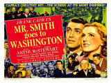 Frank Capra's Mr. Smith Goes to Washington, 1939 Gicleetryck