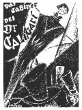 The Cabinet of Dr. Caligari, German Movie Poster, 1919 Reprodukcje