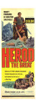 Herod the Great, 1960 Giclée-Druck
