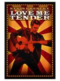 Love Me Tender, 1956 Plakater