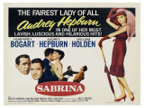 Sabrina, 1954 Reproduction proc&#233;d&#233; gicl&#233;e