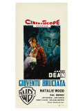 Rebel Without a Cause, Italian Movie Poster, 1955 Giclee Print