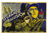 Grande Illusion, French Movie Poster, 1937 Giclee Print