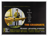 The Graduate, UK Movie Poster, 1967 Giclee Print