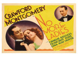 No More Ladies, 1935 Posters