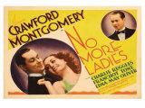 No More Ladies, 1935 Posters