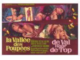 Valley of the Dolls, Belgian Movie Poster, 1967 Giclée-Druck
