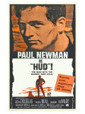 Hud, Spanish Movie Poster, 1963 Lámina giclée