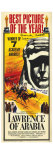 Lawrence of Arabia, 1963 Affiches