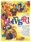 Oliver, French Movie Poster, 1969 Giclée-tryk