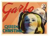 Queen Christina, UK Movie Poster, 1933 Art