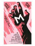 M, 1931 Plakater