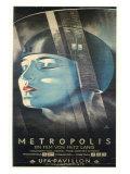 Metropolis, German Movie Poster, 1926 Plakaty