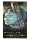 Metropolis, German Movie Poster, 1926 Plakát