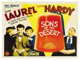 Sons of the Desert, 1933 Reproduction procédé giclée