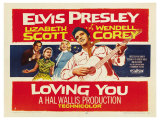 Loving You, 1957 Giclee Print
