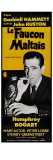 The Maltese Falcon, French Movie Poster, 1941 Kunstdruck