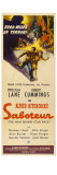 Saboteur, 1942 Posters