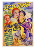 Jesse James, 1939 Giclée-tryk