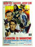 The Guns of Navarone, Italian Movie Poster, 1961 Prints
