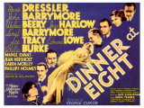 Dinner at Eight, 1933 Giclee Print