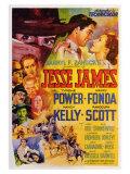 Jesse James, 1939 Posters