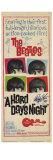 A Hard Day&#39;s Night, 1964 Gicl&#233;e-Druck