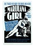 Marijuana Girl, 1969 Print