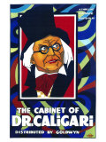The Cabinet of Dr. Caligari, 1919 Plakaty