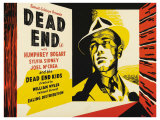 Dead End, UK Movie Poster, 1937 Giclee Print