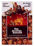 The Dirty Dozen, 1967 Giclee Print