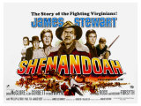 Shenandoah, UK Movie Poster, 1965 Prints