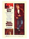 Rebel bez příčiny /Rebel Without a Cause, 1955 (filmový plakát vangličtině) Plakát