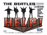 Help!, UK Movie Poster, 1965 Giclee Print