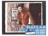 Dallas, 1950 Giclée-tryk