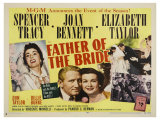 Father of the Bride, 1950 Giclee Print