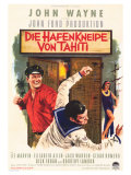 Donovan's Reef, German Movie Poster, 1963 Giclée-tryk