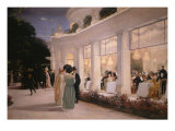 A Soiree at Pre-Catelan, 1909 Giclee Print by Henri Gervex