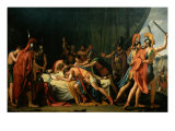 The Death of Viriathus Giclee Print by Jose de Madrazo