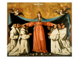 The Madonna of the Carthusians Giclee Print by Francisco de Zurbaran