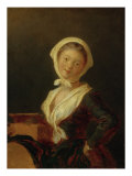 Young Savoyard Woman with Marmot Lámina giclée por Jean-Honore Fragonard