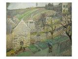 Coteau de l'Hermitage Pontoise Giclee Print by Camille Pissarro