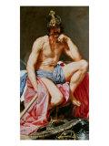 The God Mars Giclée-Druck von Diego Velázquez